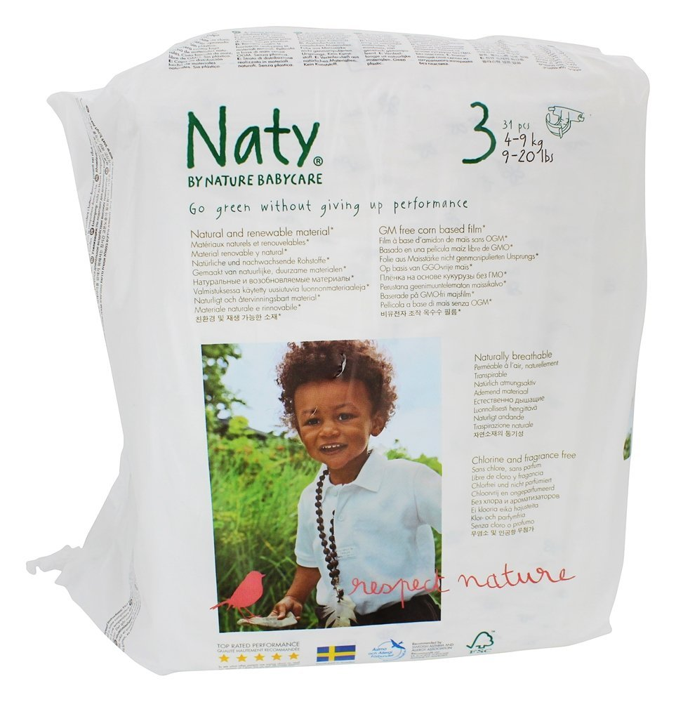 Naty Diapers - 31 Ct., Size 3