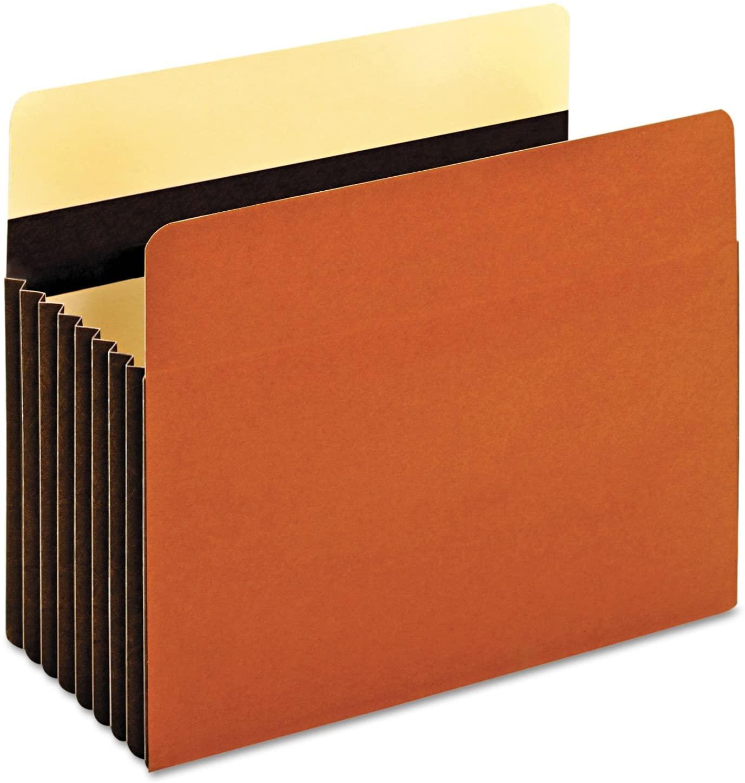 Pendaflex 15444HD Heavy-Duty File Pockets, 1 Pocket, Letter, Redrope
