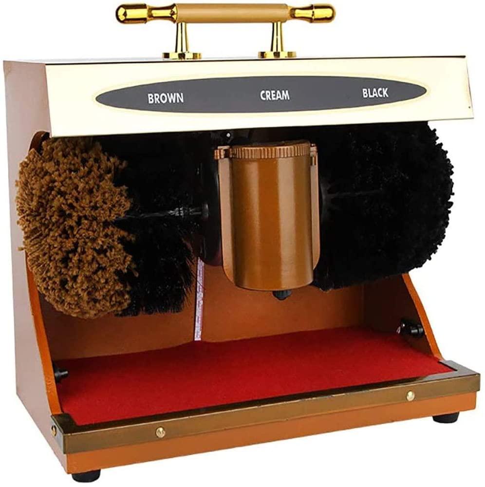 JYLT Electric Shoe Polisher Automatic Induction Dust Removal Treatment Shoes Cleaning Brush Kit Shoes Leather Shoe Shiner Machine Nursing Maintenance