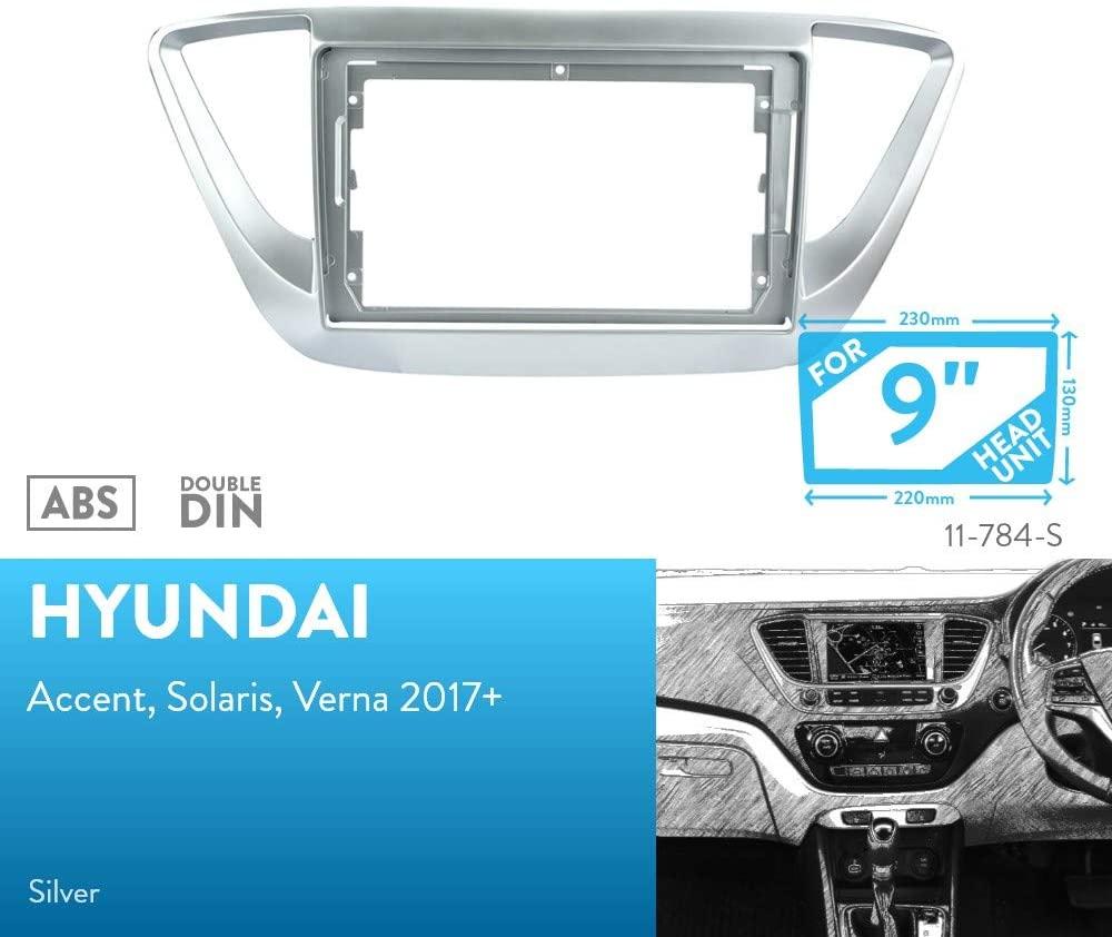 UGAR 11-784S Trim Fascia Installation Mounting Kit for Hyundai Accent, Solaris, Verna 2017+