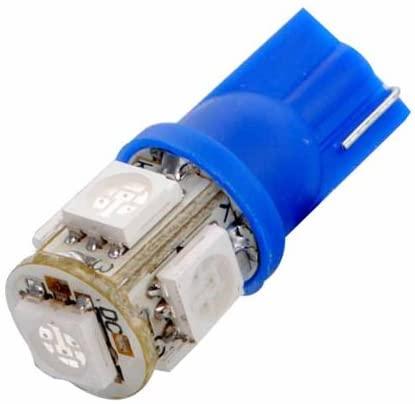 Ketofa 4x Blue Car T10 158 194 168 W5W 5050 SMD Car Side Wedge Tail Light Bulb LED Lamp DC 12V Lights Super Bright High Power