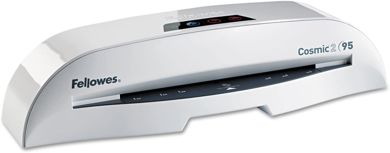 Fellowes 5725601 Laminator, w/Starter Kit, 9-1/2-Inch, White