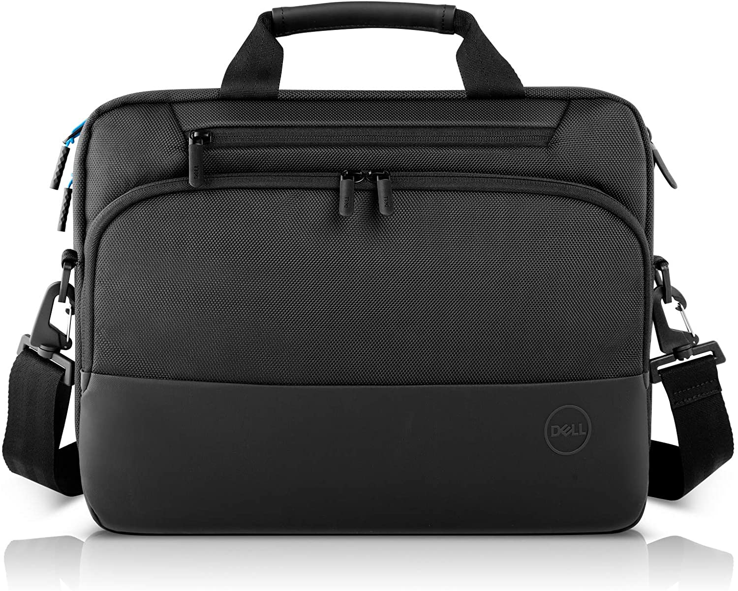 Dell Pro Briefcase 14 (PO1420C), Made with an Earth-Friendly Solution-Dyeing Process and Shock-Absorbing EVA Foam That Protects Your Laptop from Impact.