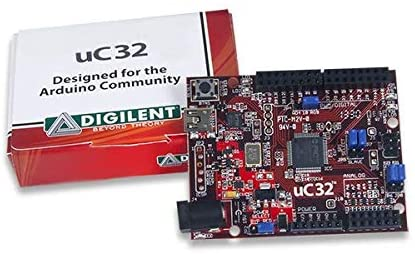 Digilent UC32: PIC32 Microcontroller Board