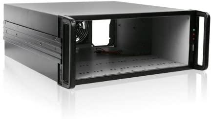 iStar Ea Storm Jbod E490JB 4U Rackmount Bare Server Chassis (Black)
