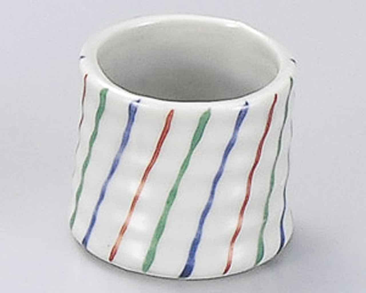 Tokusa 2inch Toothpick holder White porcelain Made in Japan