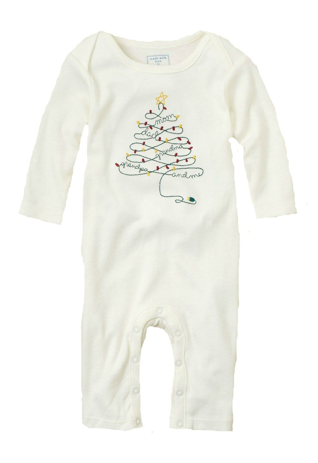 Family Tree of Love Coverall (3-6 Months)