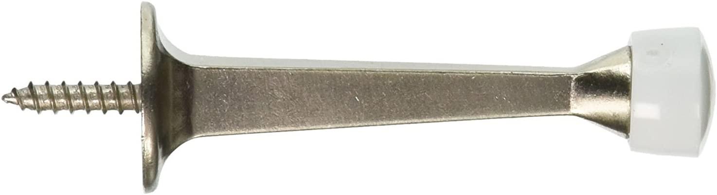 Stanley Hardware S826-024 BB8022 3in. Solid Door Stop, Satin Nickel 40 Pack