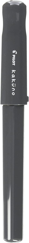 Pilot Kakuno Fountain Pen of Biginners, Medium Nib, Glay Body (FKA-1SR-GYM)