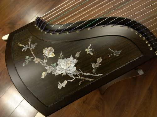 Sound of China Professional Blackwood Guzheng with Mica Inlay