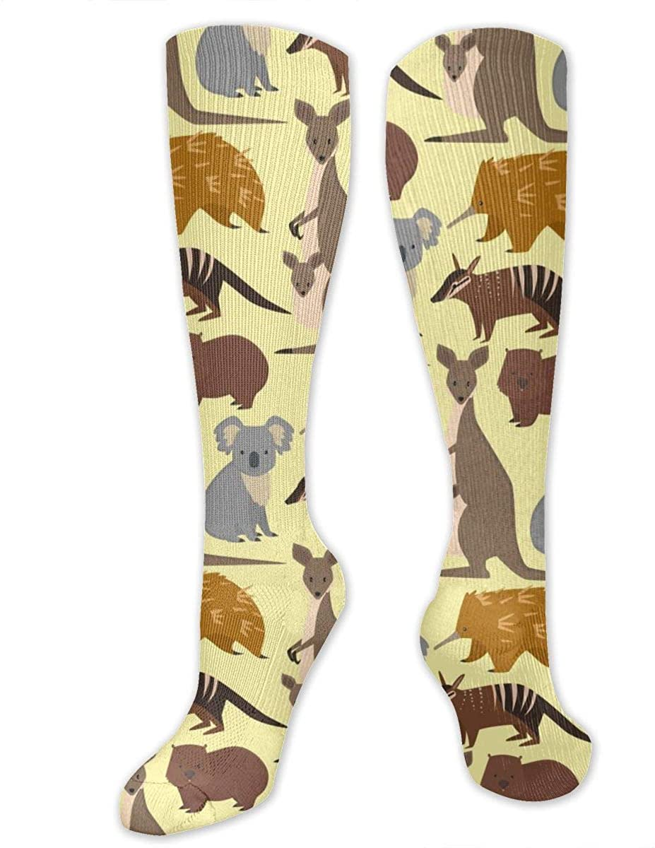 Australian Kangaroo Athletic Socks Thigh Stockings Over Knee Leg High Socks