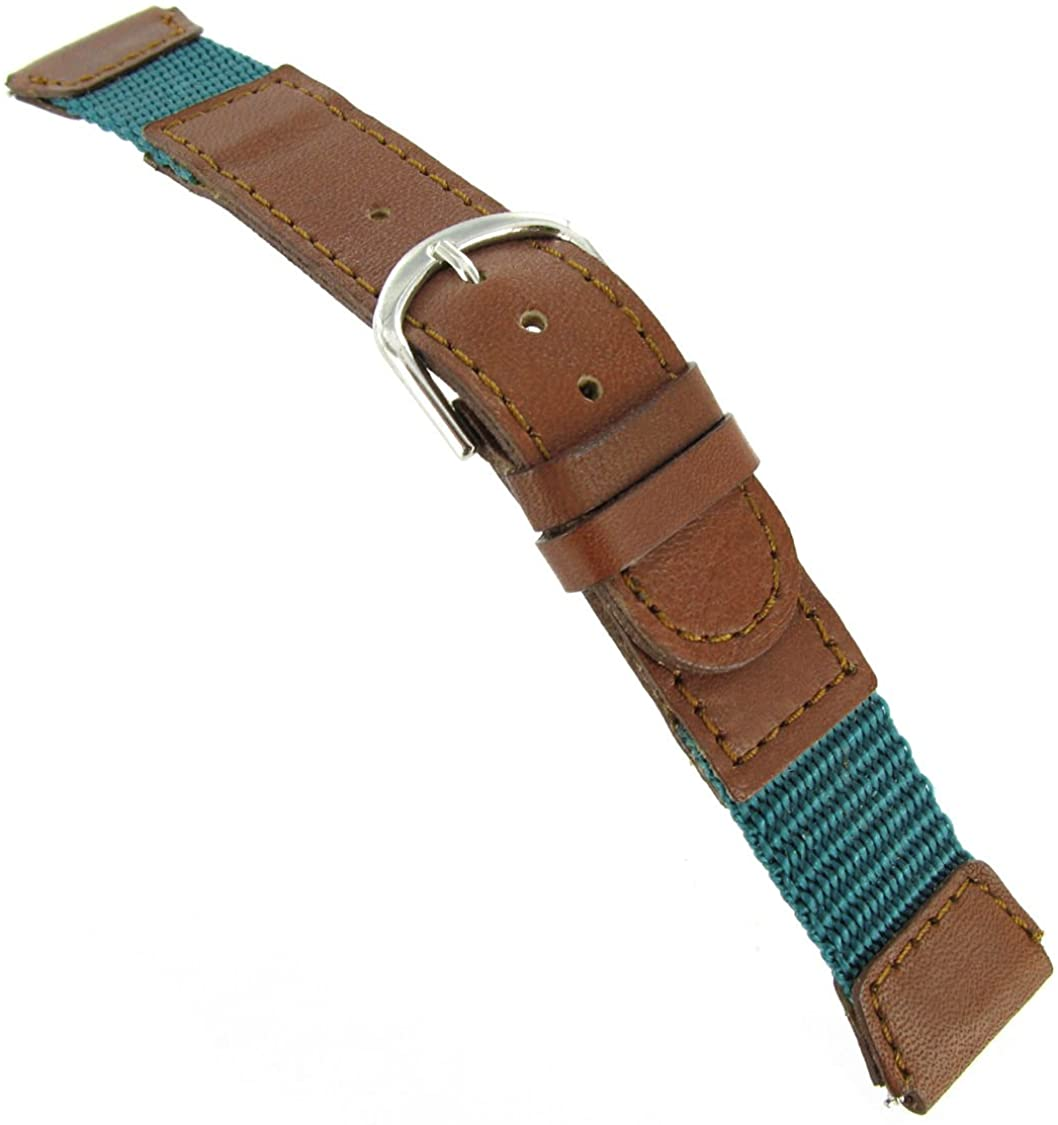 18mm Flex-on Watch Band Fits Timex Expedition with Free Spring Bars