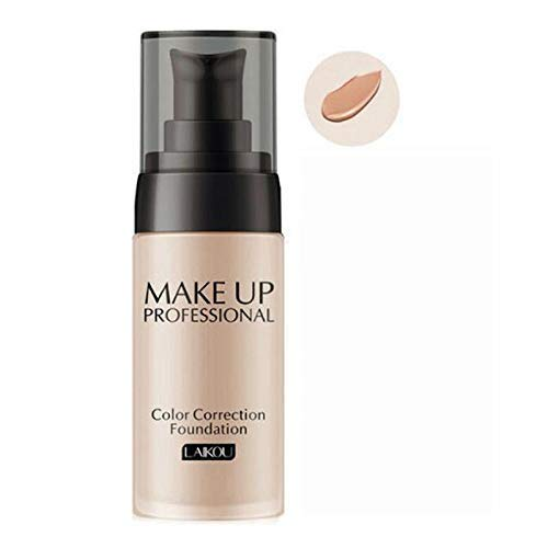 New 30ml TLM Color Changing Liquid Foundation Makeup Change To Your Skin Tone (Deep skin)