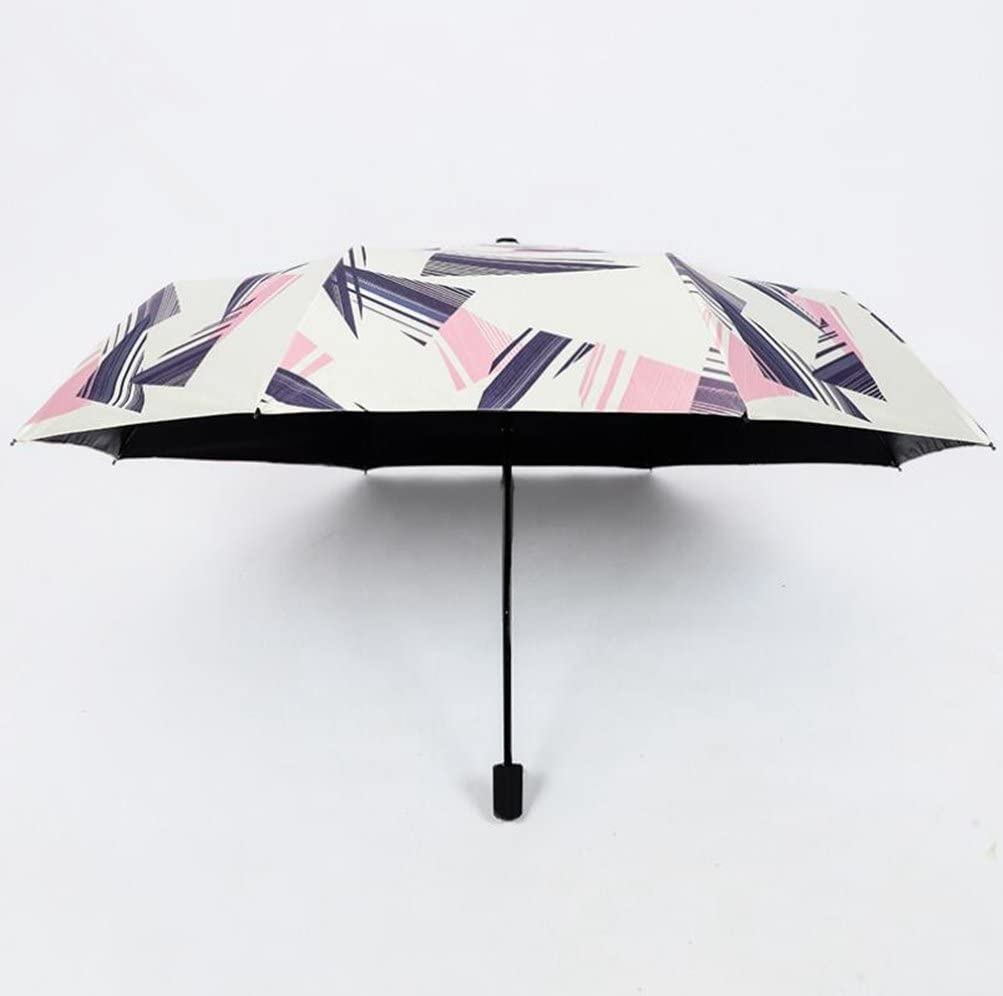 Carom Tuch Men/Women Windproof TravelUmbrella ravel Umbrellas for 8 Rib Reinforced Windproof Frame Slip-Proof Handle for Easy Carry Hit Cloth