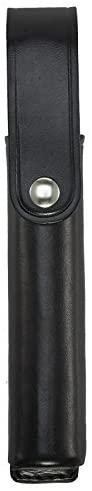 Aker Leather 556LED Flashlight Holder, Black, Plain, Fits Streamlight Polystinger LED and Stinger DS LED Flashlights