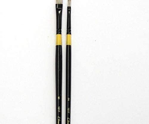 Brush Filbert Synthetic 2, T_Brush, Flat Brushes, Art Supplies