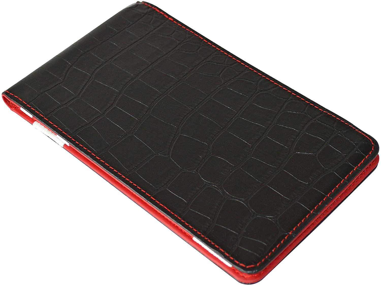 ON PAR Crocodile Scorecard Holder Black/Red
