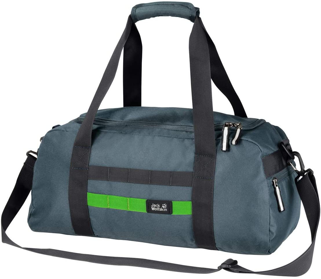 Jack Wolfskin Unisex Child Trt School Sports Bag, Storm Grey, One Size