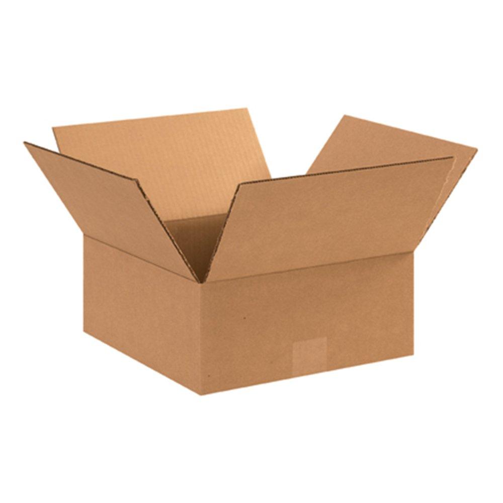 Aviditi 12125 Flat Corrugated Cardboard Box 12