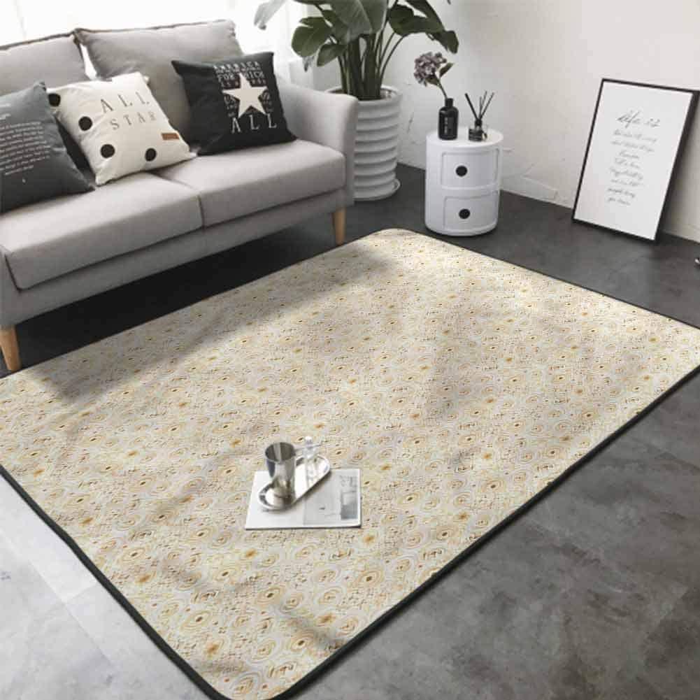 Office Chair Floor Mat Foot Pad Lisianthus Lilacs 36