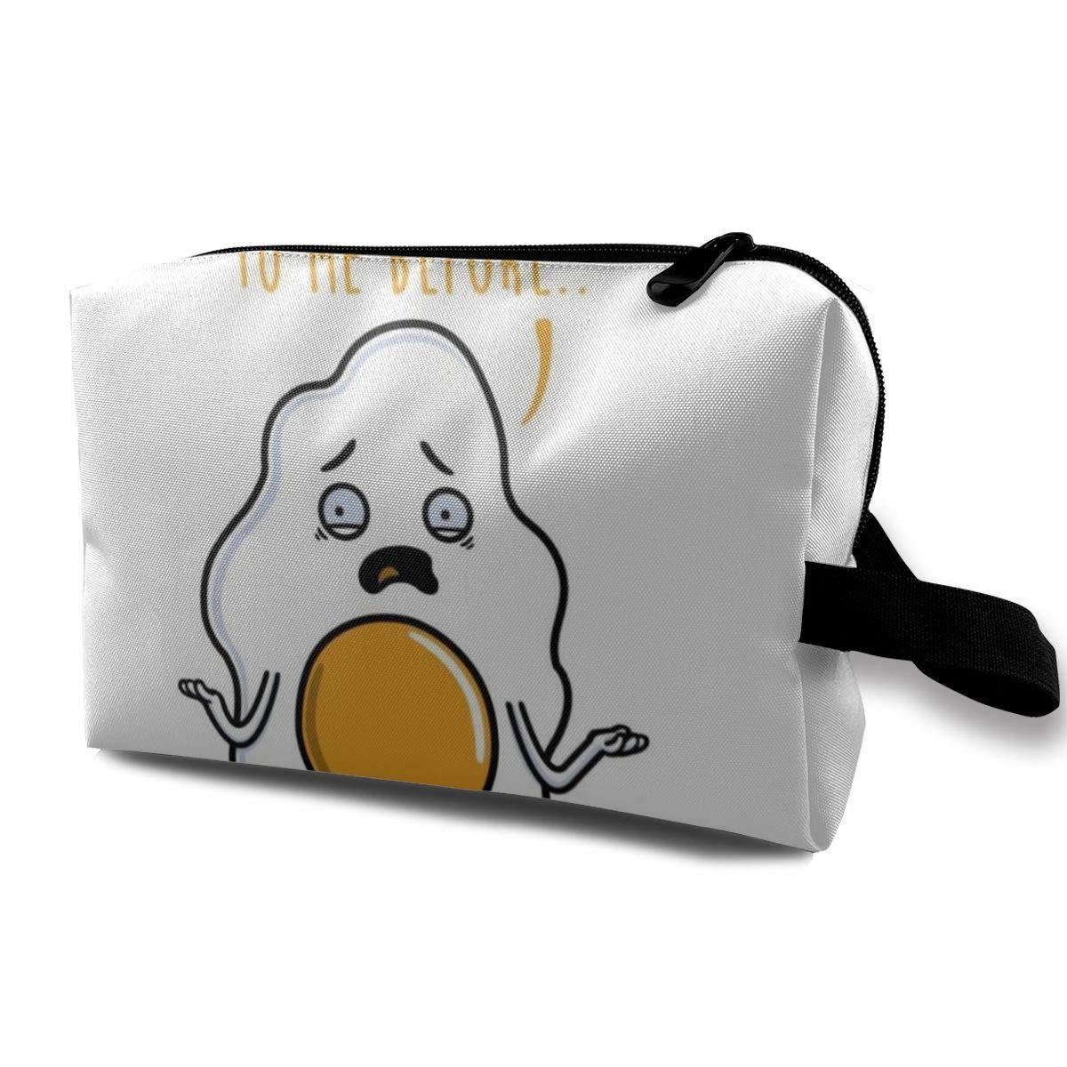 Makeup Bag Cosmetic Pouch Premature Eggjaculation Multi-Functional Bag Travel Kit Storage Bag