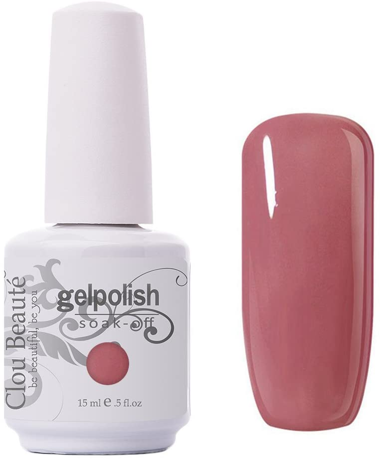 Clou Beaute Gelpolish 15ml Soak Off UV Led Gel Polish Lacquer Nail Art Manicure Varnish Color Old Rose 1592