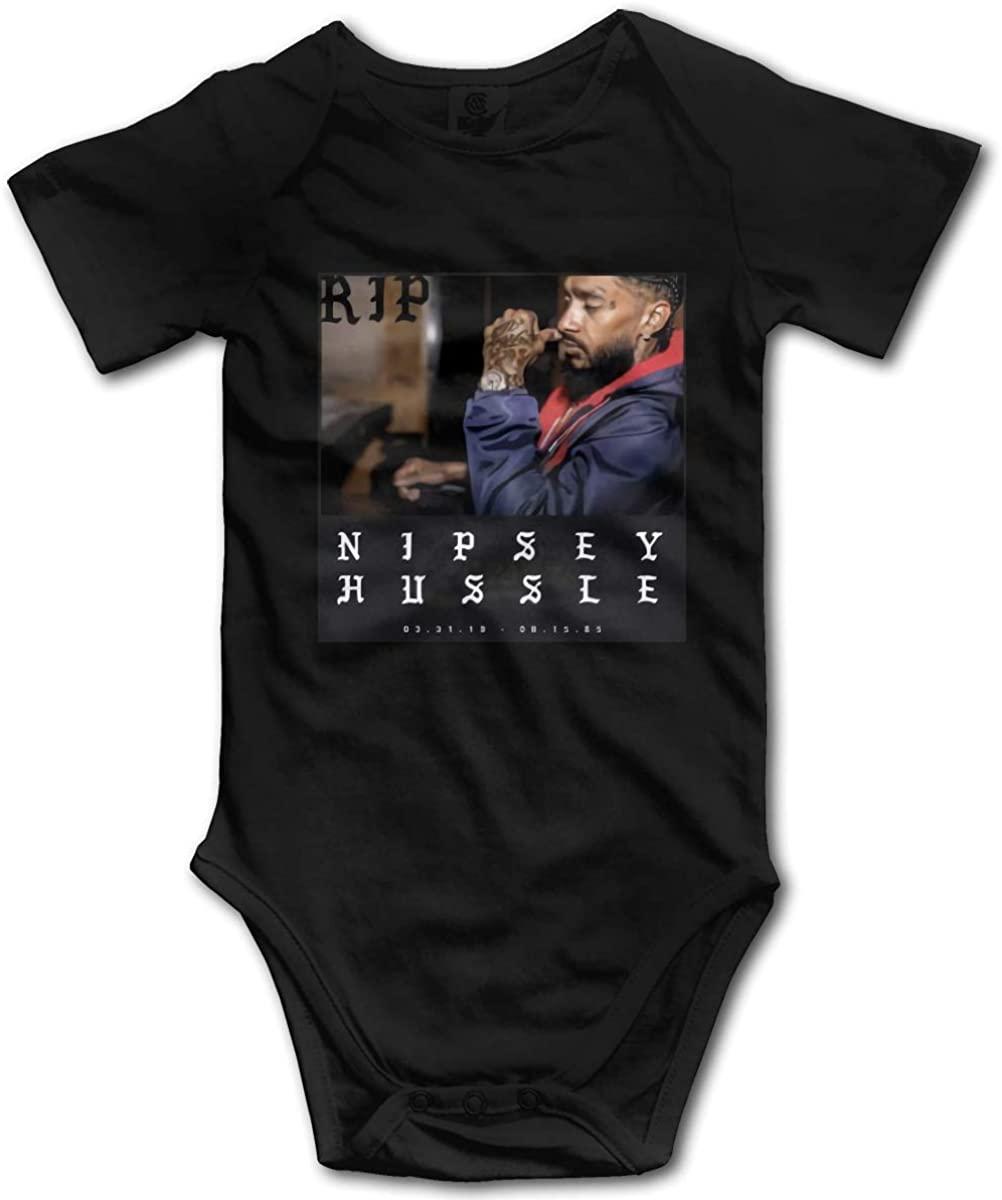 N/C Funny Infant Romper Jumpsuit Baby Rip Nipsey-Hussle Bodysuit Kids' One-Piece