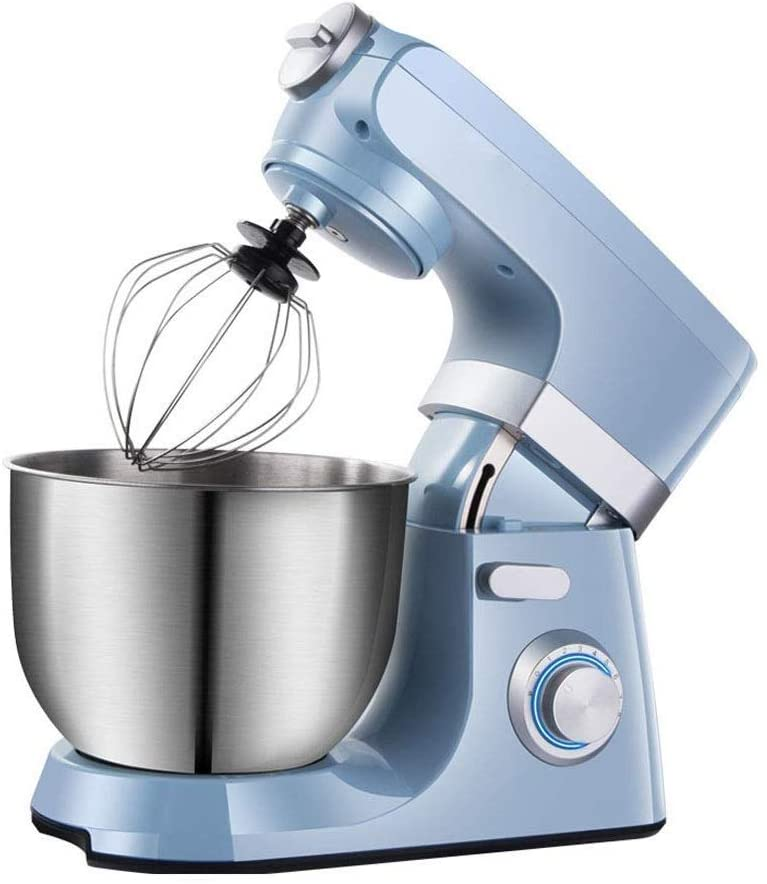 7L Stand Mixer, Electric Mixer Bowl Include Beaters and Dough Hooks, Easy Install or Disassemble, Stainless Steel