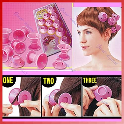 Hair Curlers Rollers - Curlers Rollers - U119 Soft Hair Care DIY Peco Roll Hair Style Roller Curler - Magic Hair Curler Roller