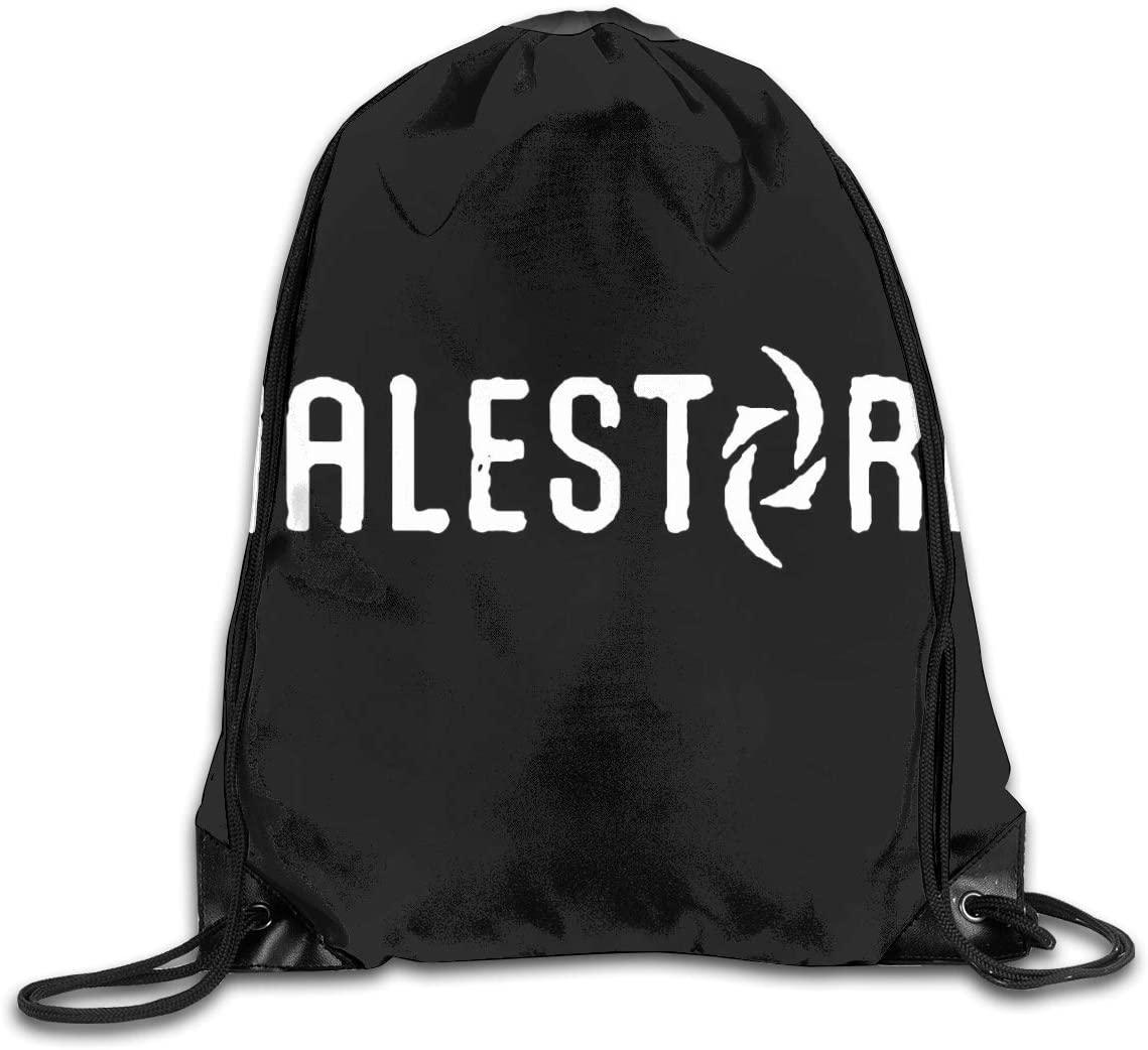 Halestorm Unisex Drawstring Bags Training Travel Sack Daypack