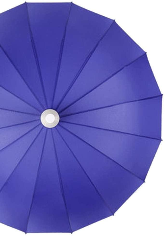 AI LI WEI Umbrella Windproof Umbrella Folding Long Handled Waterproof Case Men's Large Reinforced Wind Resistant Won't Wet The Car (Size : D)