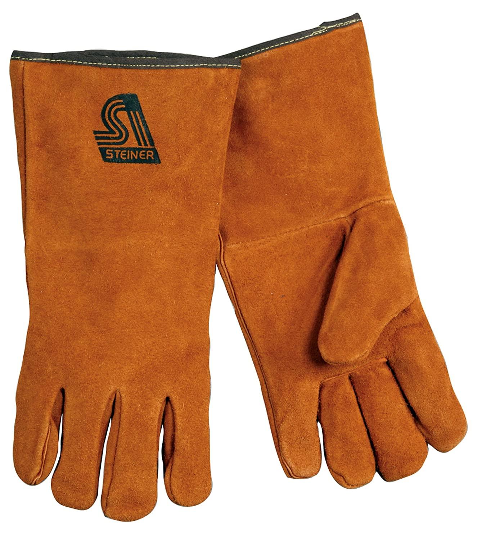 Steiner 2119C-XS Kevlar Side Split Cowhide Leather Welding Gloves, Extra Small