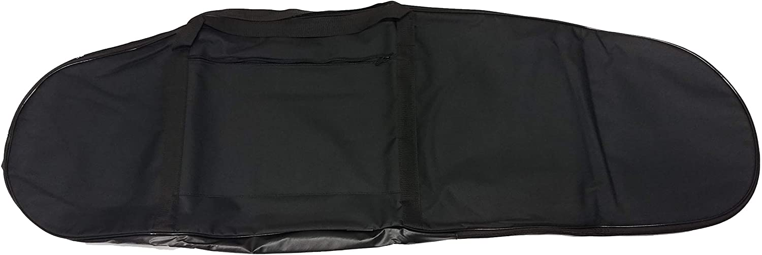 Calces365 Universal Large Black Padded Detector Carry Bag for Metal Detector 54 Inches by 17 Inches