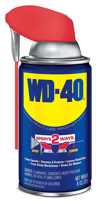WD-40 Multi-Use Product with SMART STRAWSPRAYS 2 WAYS, 8 OZ  [6-Pack]
