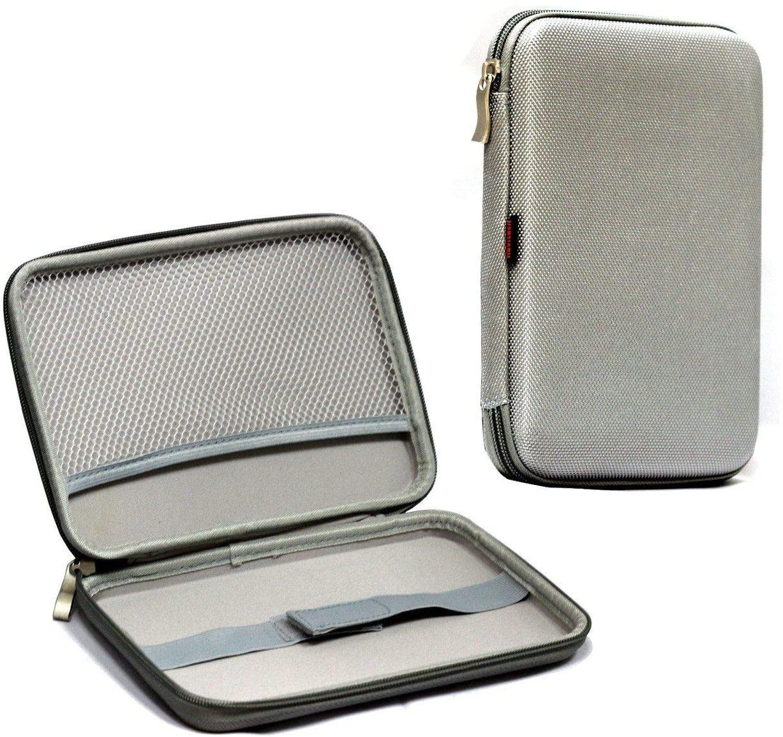Navitech Grey Hard Carry Case Compatible with The Garmin dēzl 780 LMT-S GPS