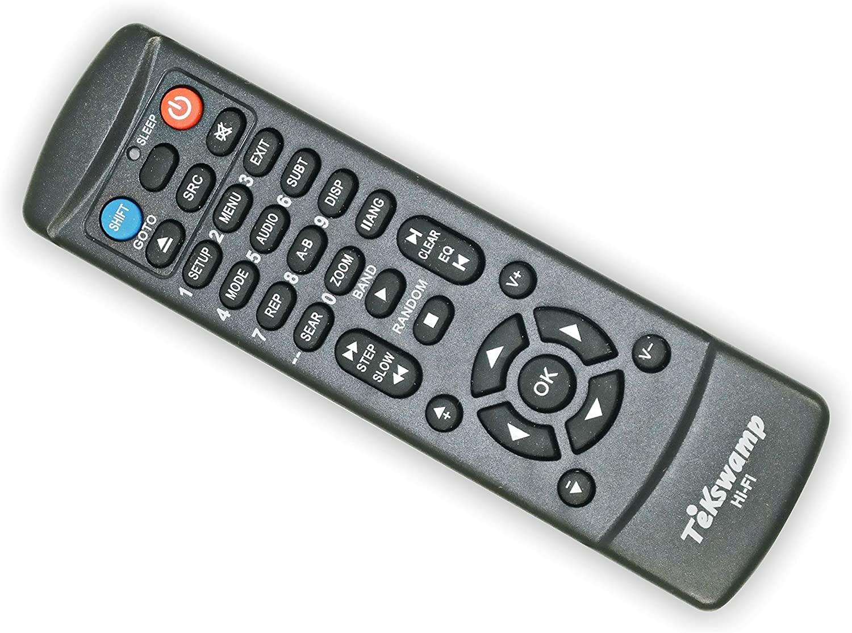 TeKswamp Remote Control for Toshiba SD-V392SU2