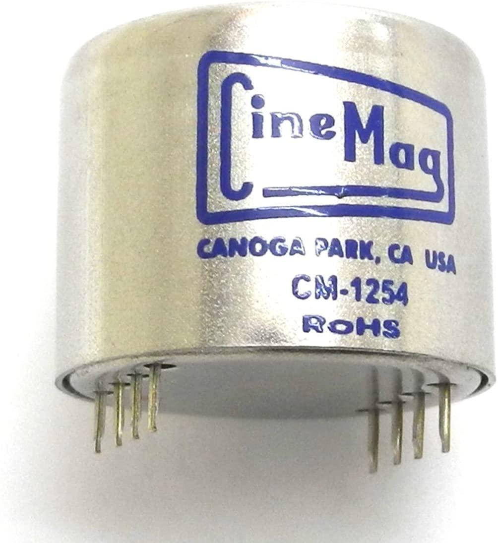 Cinemag 1254-PC Enhanced Moving Coil Cartridge Transformer (CMQEE-3440A Type) C7
