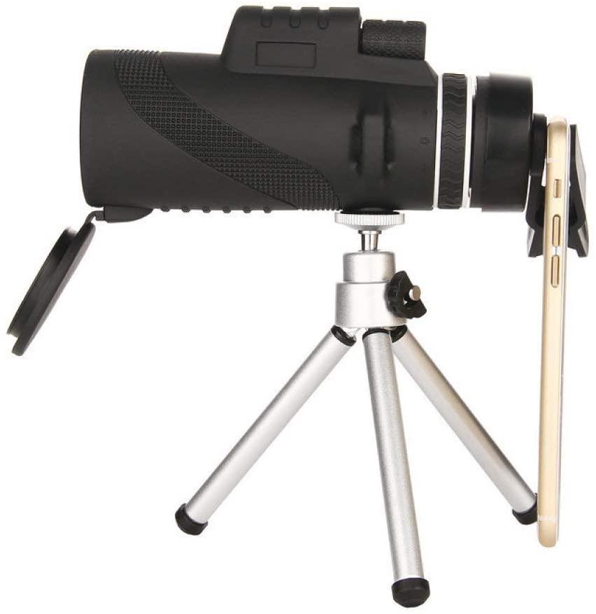 HLL Binoculars Monocular High Magnification Hd Fast Focus Binocle Anti-Slip Odorless Leather Shockproof HLL/Black/A