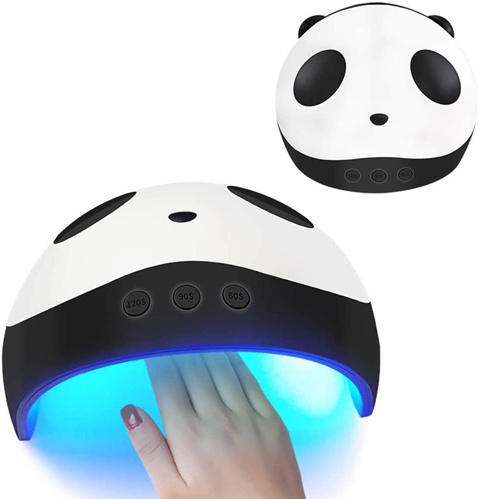 Shhjjpy UV LED Nail Light Nail Pedicure Dryer Intelligent Automatic Sensing 60/90/120 Second Timer Setting