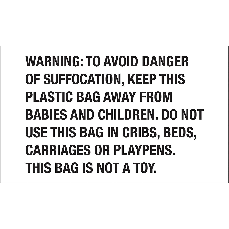 Poly Bag Guy Tape Logic Labels,