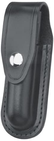 Gould & Goodrich X672-2 Flashlight Case Holds Scorpion or Sure-Fire 6P Flashlight (Black Ballistic Nylon)