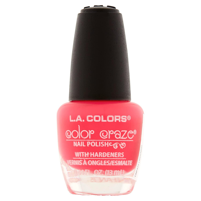 422 Lightning - L.A. Colors Color Craze Nail Lacquer Polish .44 fl oz 13mL