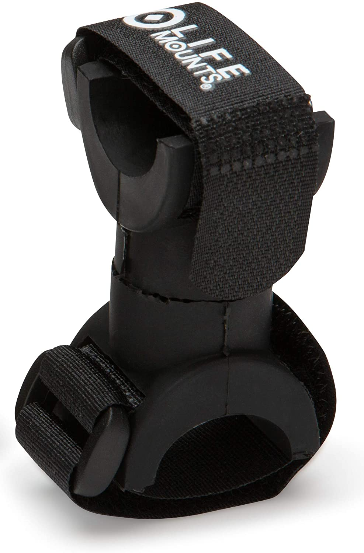 Life Mounts Patented Flashlight Mount (Black)