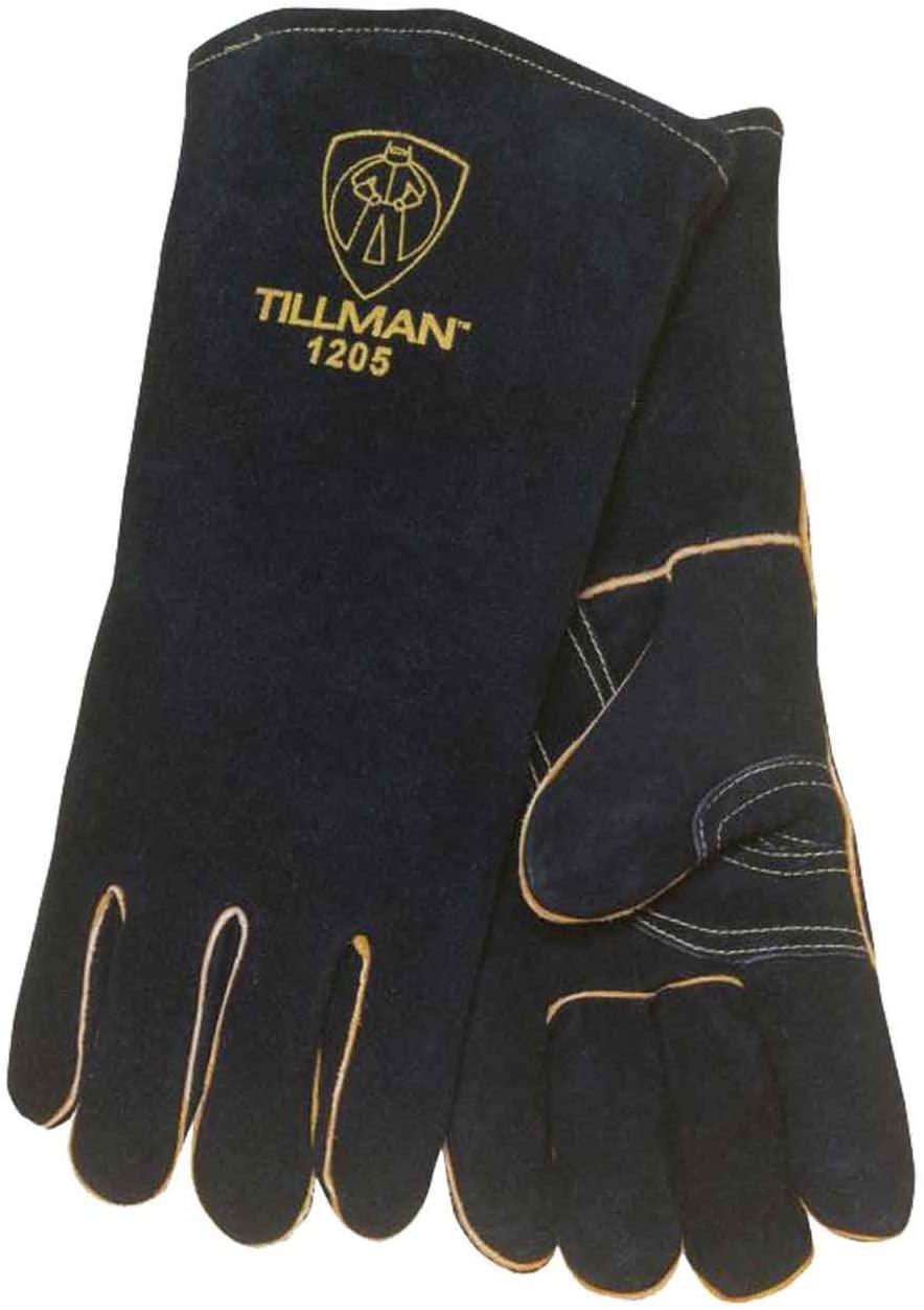 Tillman 1205 14 Premium Insulated Split Cowhide Welding Gloves, Large