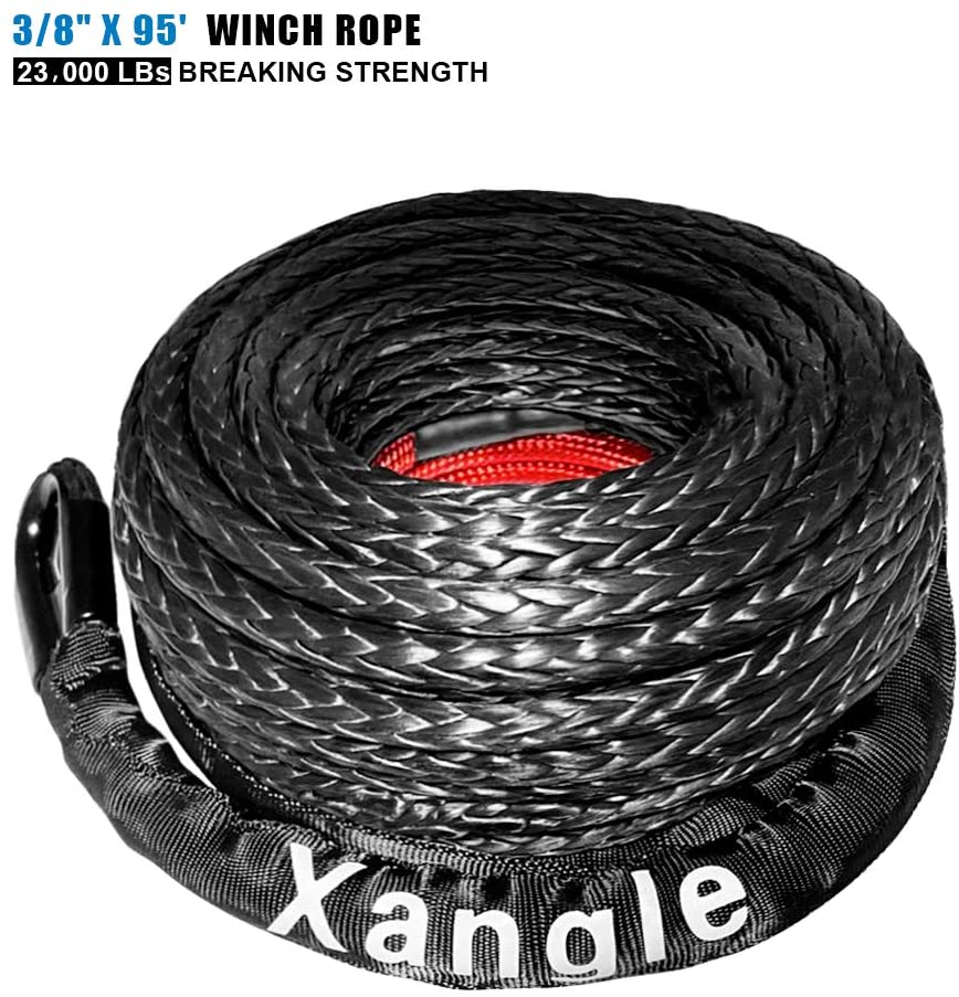 Xangle Synthetic Winch Rope, 3/8