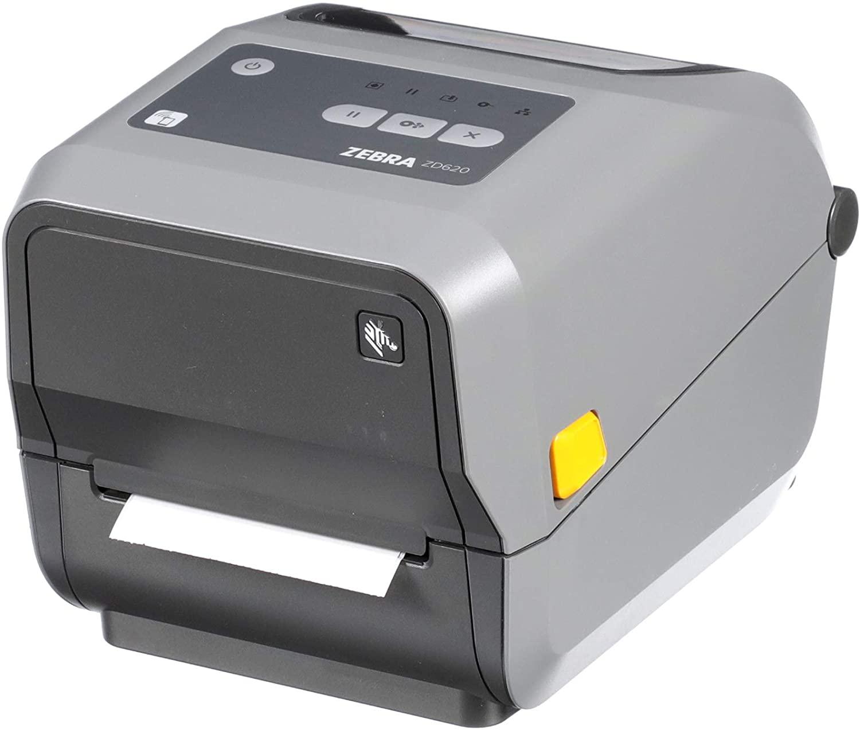 Zebra ZD620t Thermal Transfer Desktop Printer 203 dpi Print Width 4 in Ethernet Serial USB ZD62042-T01F00EZ