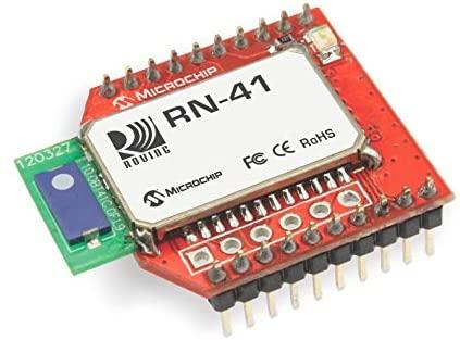 Microchip Roving Networks RN41XV Bluetooth Class 1 Module firmware 6.15 SPP HID Chip Antenna