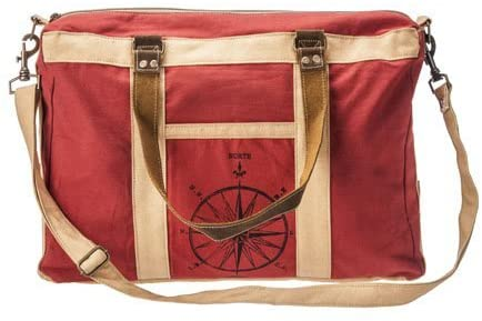 Rose - Handmade Duffle Bag from The Barrel Shack