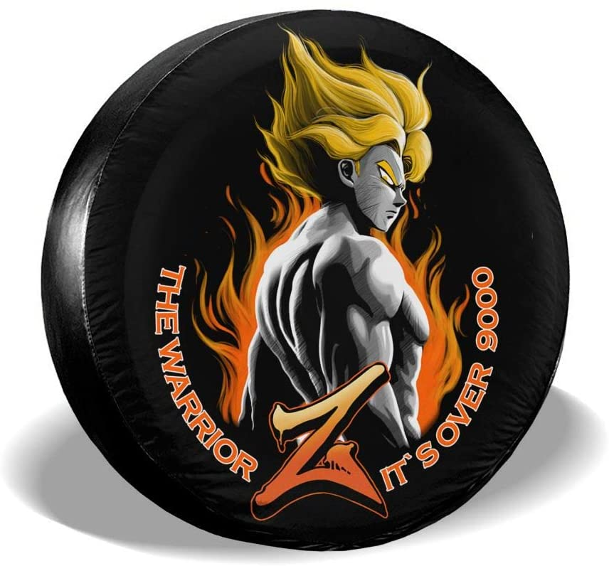Liuqidong Dragon Ball Suitable for Jeep, Trailer, Rv, SUV, Truck and Many Vehicles, 14 15 16 17 Inch Wheel Cover Water-Proof Dust-Proof Sun Protection
