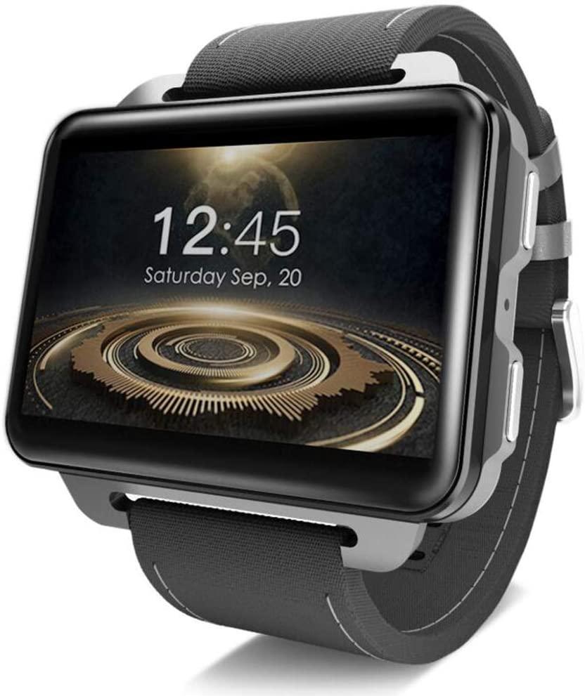 CZWNB Smart Watch Android 5.1 Supper Big Screen 1200 Mah Lithium Battery 1GB + 16GB WiFi Take Video,Black